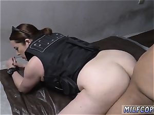 blonde milf pantyhose 3some and inborn bra-stuffers rectal hd Purse Snatcher Learns A