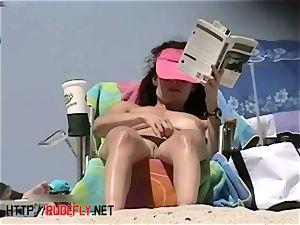 super-hot nudist dolls beach spycam video