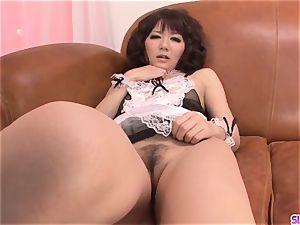 Yurika Miyachi mouths then - More at Slurpjp.com