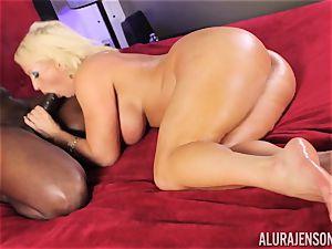 super-naughty Alura Jenson black bone fellating ultra-cutie