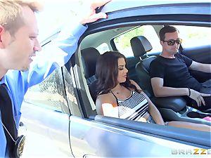 Keisha Grey getting boinked across the car