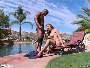 firm rectal penetrated with dark-hued bull and huge-boobed porn industry star Chanel Preston