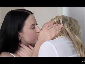 A lady Knows - erotic lesbo orgy with super hot Czech babes