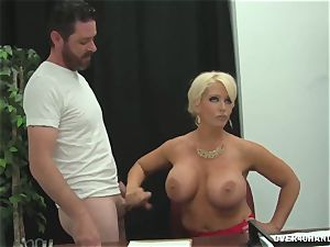 instructor attempts To Fix His Lower Grades milking dick