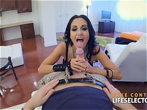 Ava Addams - giant funbags in action point of view