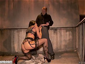 Romi Rain - awesome hot inexperienced porn in the street