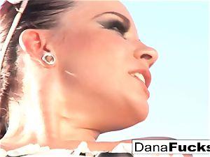 Dana the maid in a torrid romp