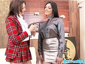 Rich glam all girl assfingered and pussylicked
