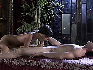 Asa Akira strokes dongs like a professional