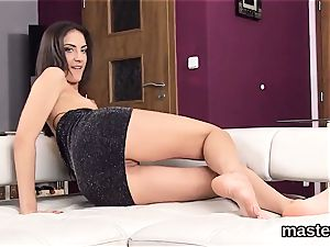 Peculiar czech nymphomaniac spreads her spread fuck hole to the unusual
