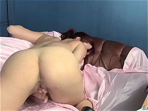 voluptuous Jayden Cole loves taunting her saucy humid pleasure button