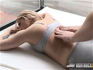 outstanding Brittany Bardot forgets about her bf