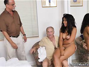 brunette brutal gangbang and unexperienced fitness trainer xxx Glenn ends the job!