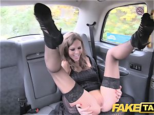 faux cab Posh nymphs turgid vulva and booty drilled