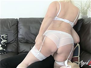 AgedLovE Lacey Starr seduces xxx fuckfest paramour