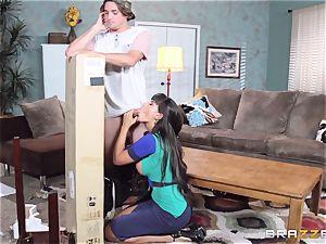 Mercedes Carrera screwing her sonnies friend