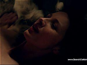 Caitriona Balfe in warm orgy vignette from Outlander