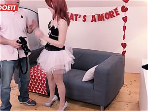 LETSDOEIT - Valentine's Day raunchy orgy With cameraman
