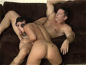 Charley chase is the mistress of rough riding