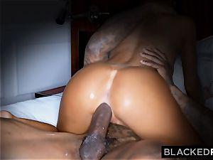 BLACKEDRAW jaw-dropping torrid wifey likes to rim ebony bulls in hotels