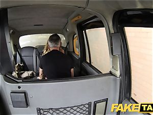 fake cab rimming tanned honey with lil' pinkish twat