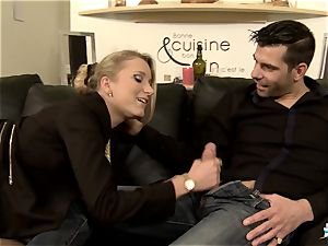 LA COCHONNE - super hot buttfuck with insatiable French blondie