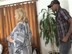 insatiable Nina Hartley gets her husband watching her plowing