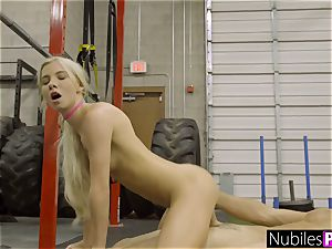 cock-squeezing Kenzie Reeves Gets nubile vagina stretched S1:E3