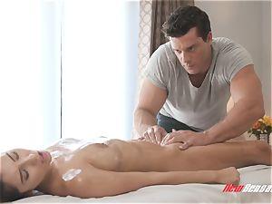 Gianna Dior sensual rubdown intercourse